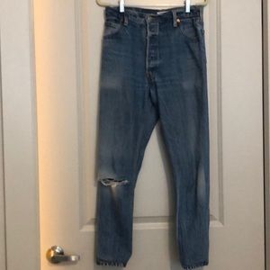 Re/Done Jeans - ReDone Levi's High Waisted Jeans